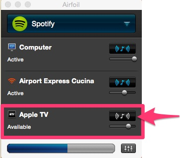 Airfoil come usare apple tv come altoparlante per - Filodiffusione in casa ...