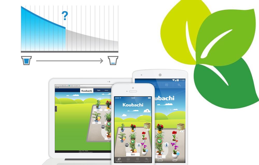 Koubachi l 39 app di giardinaggio per android e iphone for App per progettare casa android