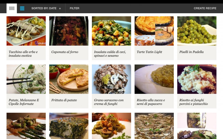 Organizzare Il Menu Della Settimana raccoglitore di ricette, menu settimanale e lista della